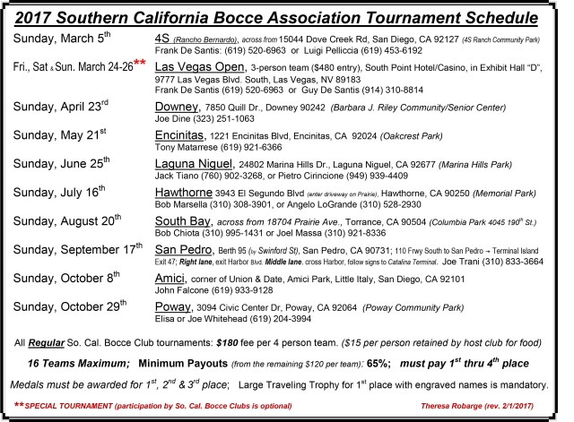 Southern  California  Bocce